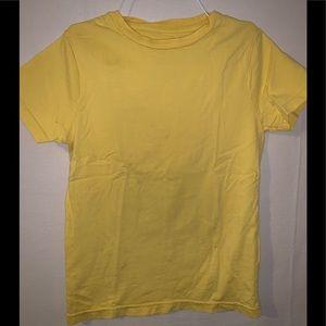 Mini Boden Boys short sleeve T yellow 7 8